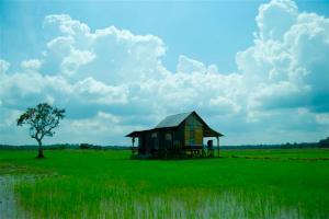 rumah=atap+tiang+dinding+tangga