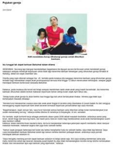 berita harian, 7 ogos 2011