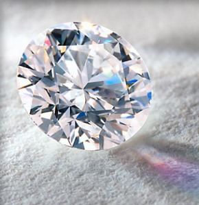 a chunk of diamond comes from a chunk of charcoal