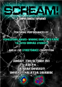 SCREAM! - A Campus Concert Experience