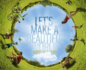 let's make a beautiful world