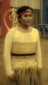 me in tarian etnik kreasi (orang asli) full costume